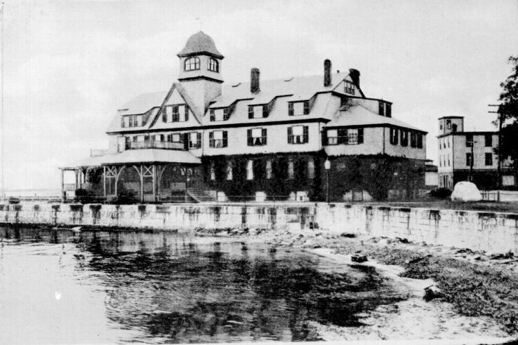 Original lab building.