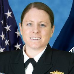 Headshot of Lieutenant Commander Emily Rose