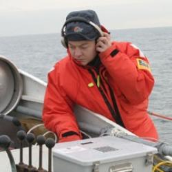North Atlantic right whale expert Sofie Van Parijs.