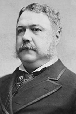 head and shoulders photo of Chester A. Arthur, 21st president id the United States