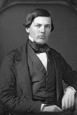 Portrait of a young Spencer Baird