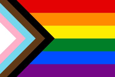 LGBTQ+ progress variant rainbow flag