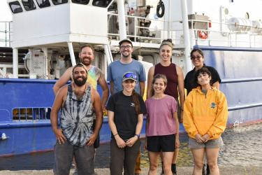 2021 research expedition team of Scripps Institution of Oceanography and Universidad Veracruzana scientists and students.