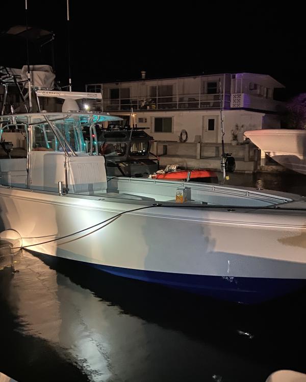 "Danizg's Contender fishing boat, ""Bodacious"""
