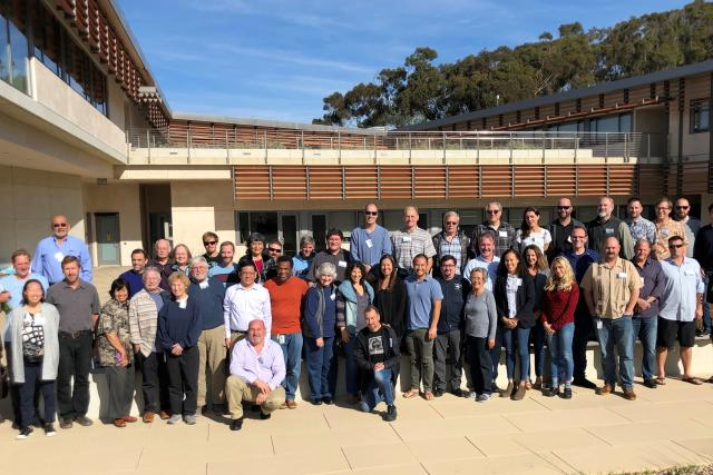 Members of the 2019 Trinational Sardine and Small Pelagics Forum group photo