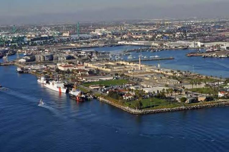 Photo of US Coast Guard Base Los Angeles