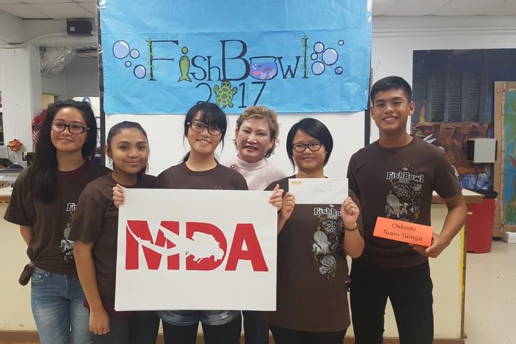 Team Tataga, Grand Prize winners of FishBowl 2017