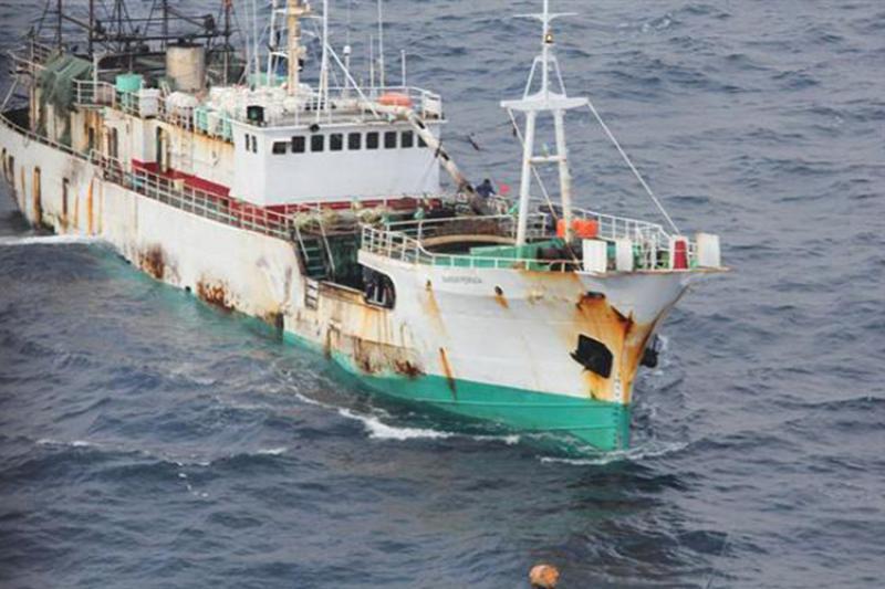 IUU fishing boat