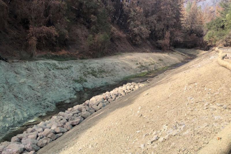 York Creek streambed