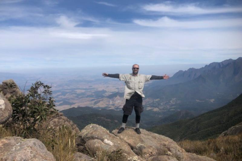 Andy Davis at Itatiaia National Park, Rio de Janeiro State, Brazil.