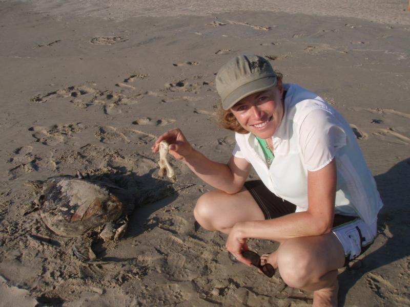 Cali w turtle bone.JPG