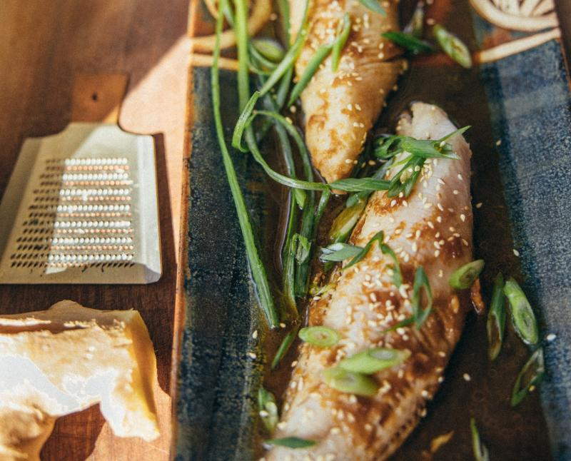 Glazed sablefish dish_Photo by Dana L. Brown, used under CC BY-SA 2_0.jpg