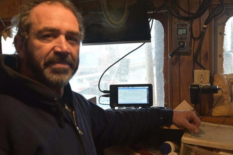 Tony Borges in wheelhouse.JPG